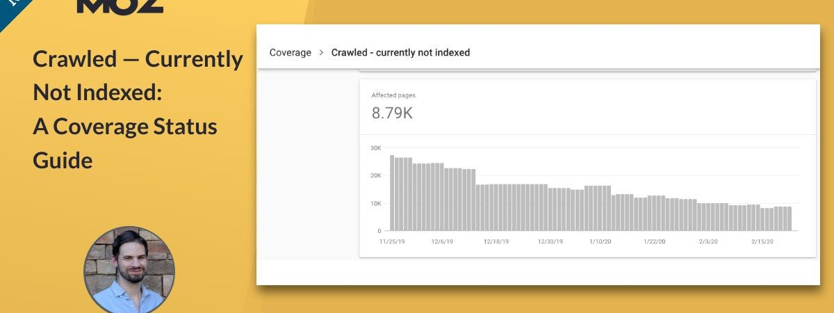 Crawled — Currently Not Indexed: A Coverage Status Guide
